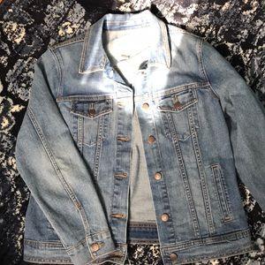 NWT Old Navy Jean jacket L